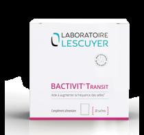 Bactivit transit - Contribue à une fonction intestinale normale en accroissant la fréquence des selles