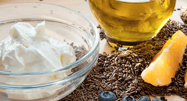 La crème Budwig, un petit-déjeuner vitaminé