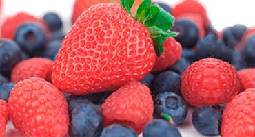 Des fruits colorés, bons pour la santé