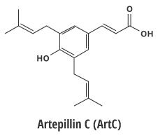 Molécule propolis