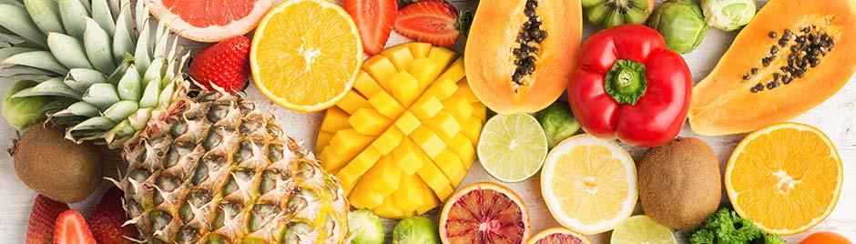 Vitamine c - fruits et légumes