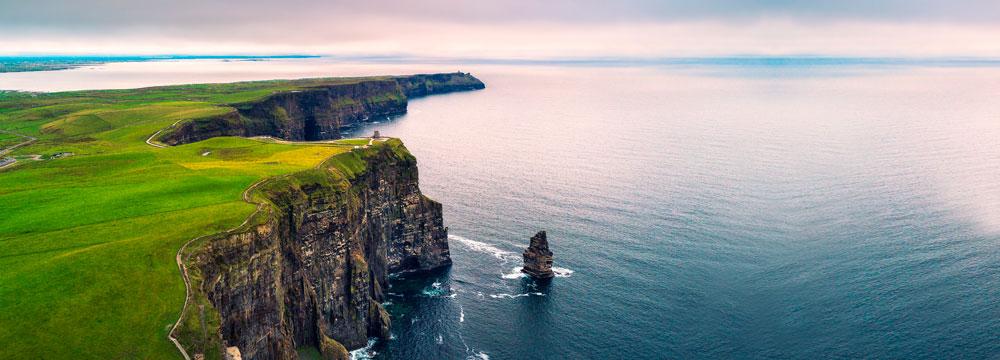 Mer irlande falaise magnésium