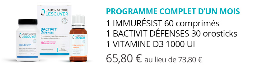 pack immunité adulte