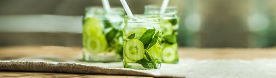 Detox au jus de concombre